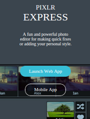 A fun and powerful photo editor for making quick fixes or adding your personal style.